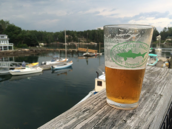 Some 60 Minute Dogfish Head to enjoy with our view.