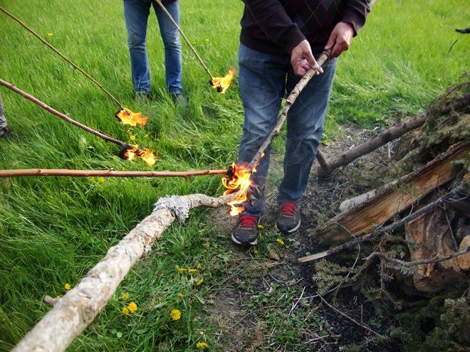 kurjenje ognja