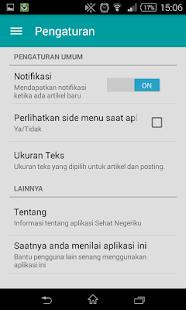 Sehat Negeriku- screenshot thumbnail