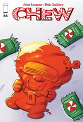 """Actualización 25/09/2015: Zalipa en la traducción y Arsenio Lupín en las maquetas comienzan un nuevo arco con Chew #46, """"Postre de Sangre 1 de 5""""."""