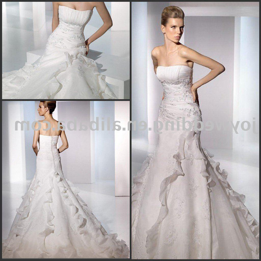 Bridal wedding gown 1  Receive