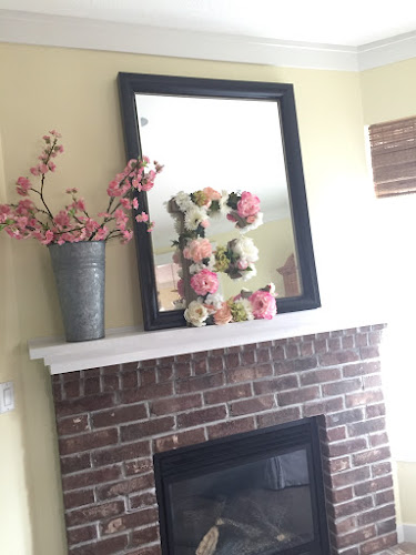 Paneling above fireplace tutorial