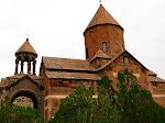 Khor Virap Monastery, on the Turkish border, Armenia.