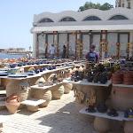 Ein Keramik-Laden im Port von Chania / Магазин керамики в порту Хании
