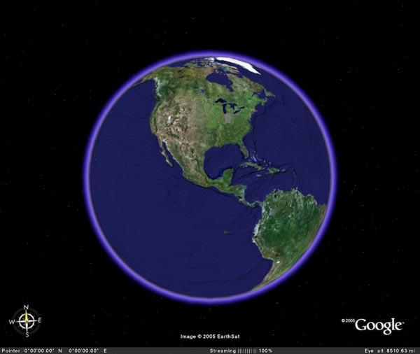 Google планета земля для андроид.