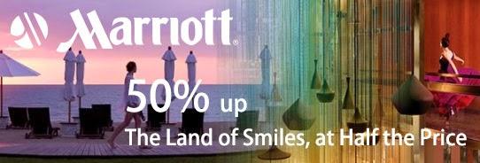 14間泰國萬豪酒店【Flash Sale】,低至半價只限3日,至7月31日止。