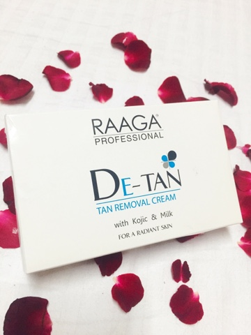 RAAGA DE-TAN Tan removal cream