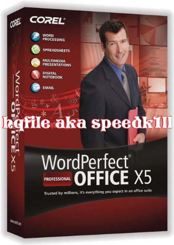 Corel WordPerfect Office Professional X5 v15.0.0.357 Incl Keymaker-AGAiN