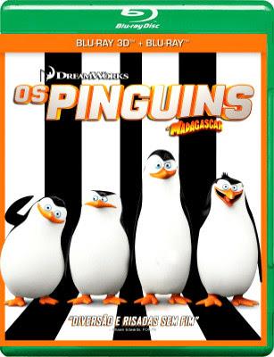 Filme Poster Os Pinguins de Madagascar BDRip XviD Dual Audio & RMVB Dublado