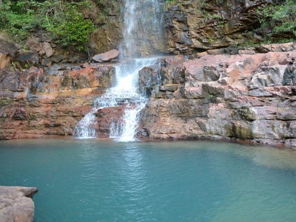 Cachoeira do Urucà, Uiramutà - Roraima, foto: Vanessa Lima/G1