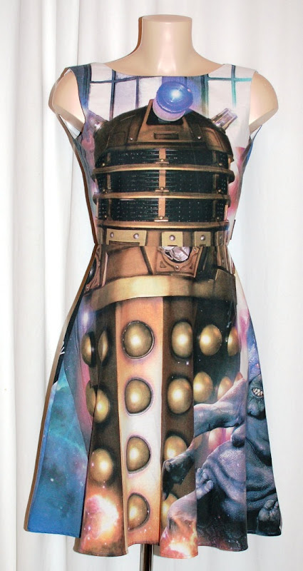 Doctor Who Dalek Dress from Geek Boutique