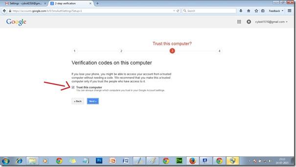 Gmail-trust
