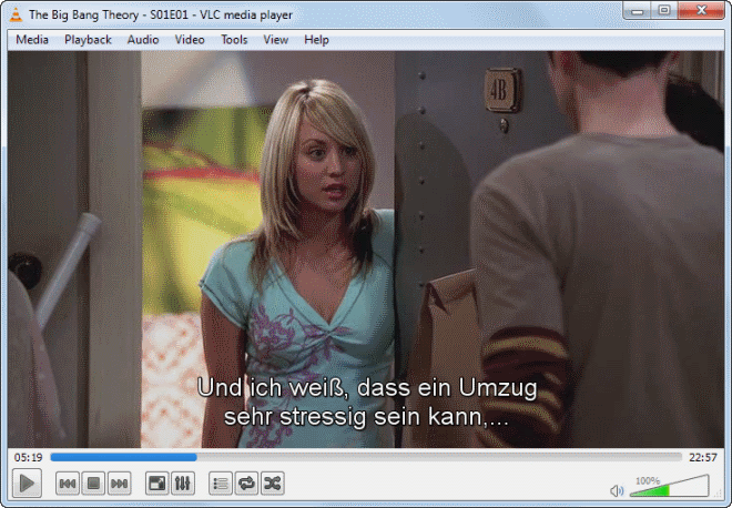 vlc subtitles