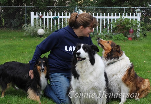 Jen and Dogs Sept 18
