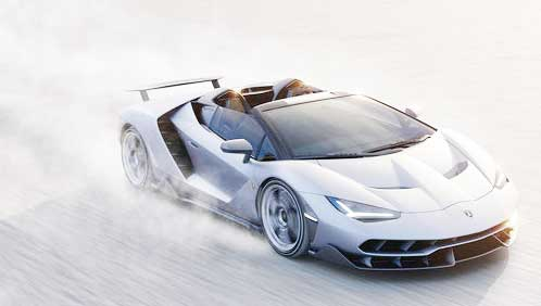 2017 Lamborghini Centenario Roadster Engine Powers