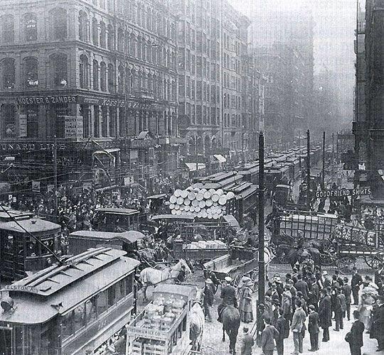 NY or Chicago 1909
