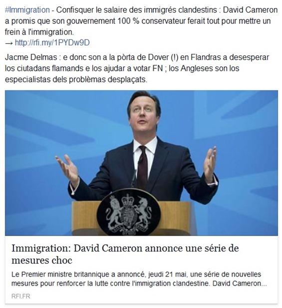Politica anglesa sobre l'immigracion