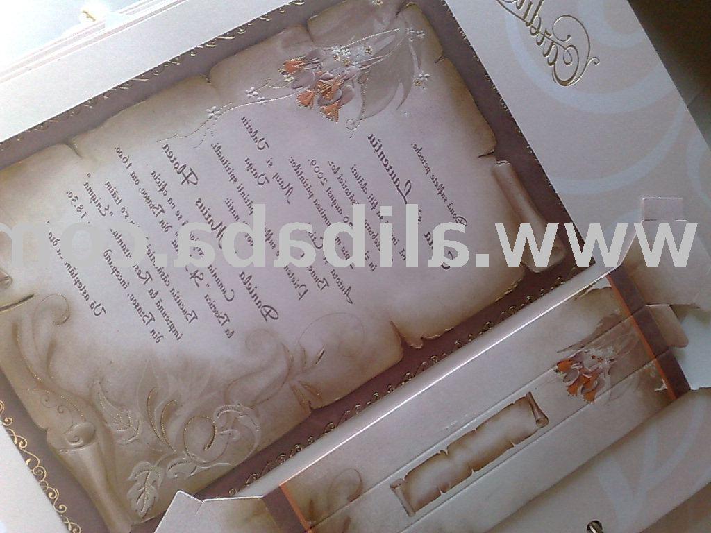 wedding card -invitation