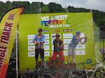 Xavier termine 2nd sur la Massive DH Velovert Festival 2015.