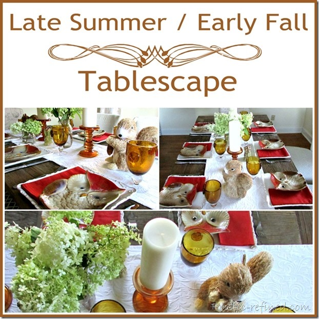 Early Summer Fall Tablescape Ideas - Copy