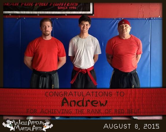 Andrew-REDbelt