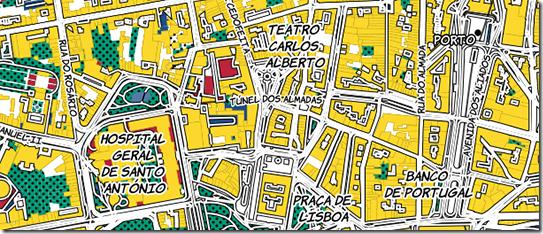 Porto Mapa Pop art