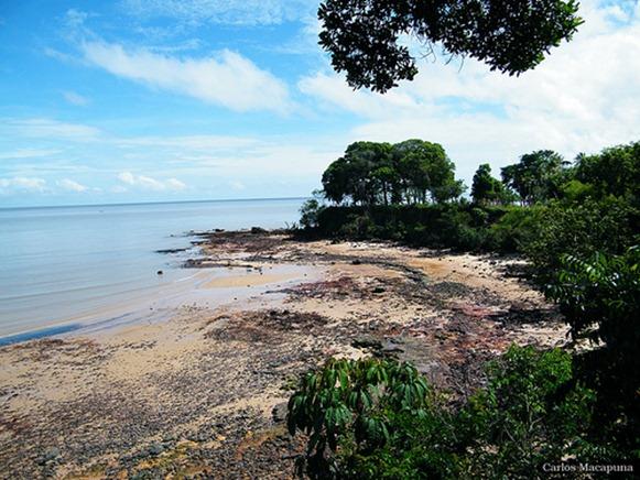 Praia de Marahù - Ilha do Mosqueiro, Belém do Parà, foto: Carlos Macapuna