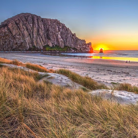 Morro Bay by Eric Terhorst - Landscapes Sunsets & Sunrises