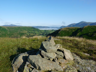 Bassenthwaite from one of the many tops of High Rigg.
