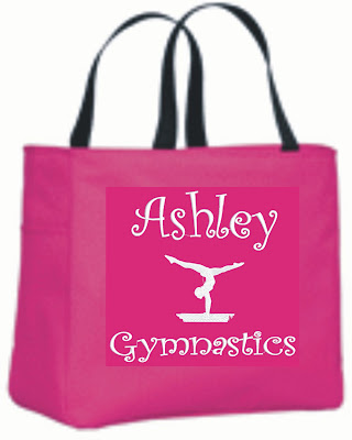 GYMNASTICS-TOTE-Bag-GYM-SQUAD-SCHOOL-DANCE-TEAM-GIFT-PERSONALIZED