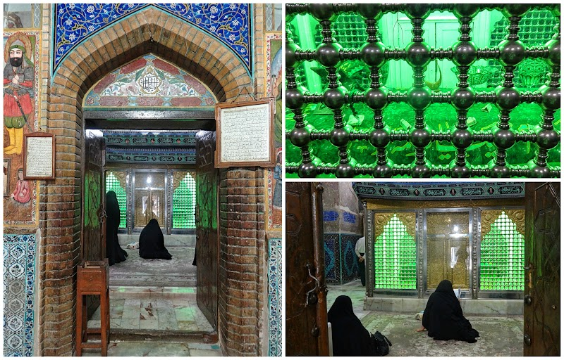 Esfahan Allame Majlesi Shrine wnętrze.jpg