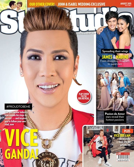 StarStudio Aug 2015 - Vice Ganda