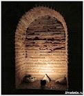 Ниша в стене Фракийской гробницы.