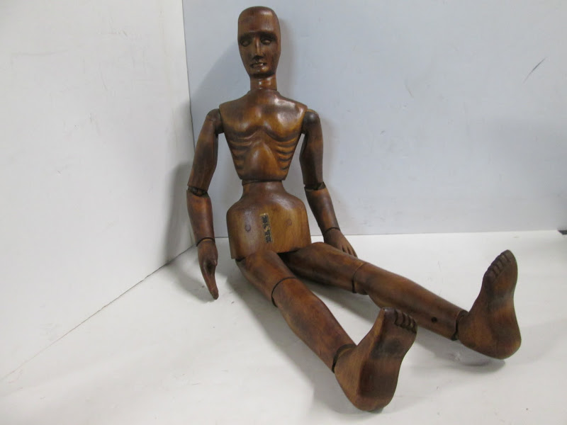 Asian Articulated Doll
