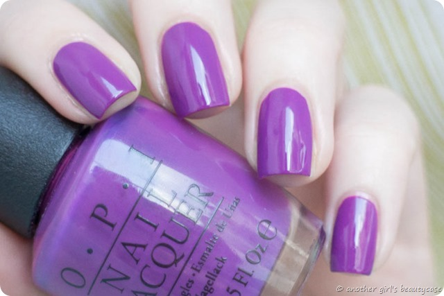 LFB Lila Volet Lolac OPI Bouquet of Violets Swatch Creme-2