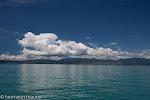 Anblick auf die Südwestküste von Sermione aus - Вид на юго-западный берег из Сермионе