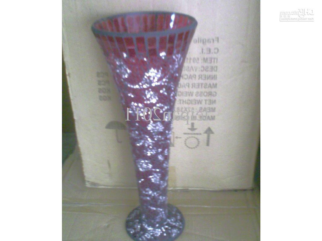 Vase Black Red wedding