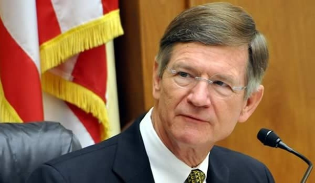 U.S. Representative Lamar Smith, (R-TX), chairman of the House Committee on Science, Space and Technology. Rep. Smith refers to climate science as a 'religion', in an editorial in the Wall Street Journal, 23 April 2015. His editorial is riddled with factual errors.