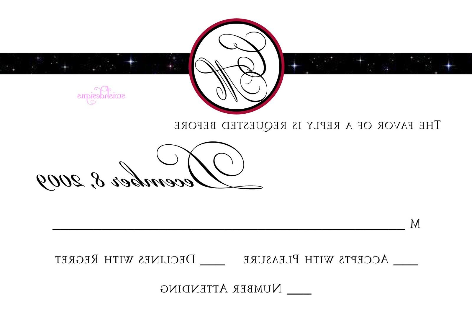 freed wedding invitations for
