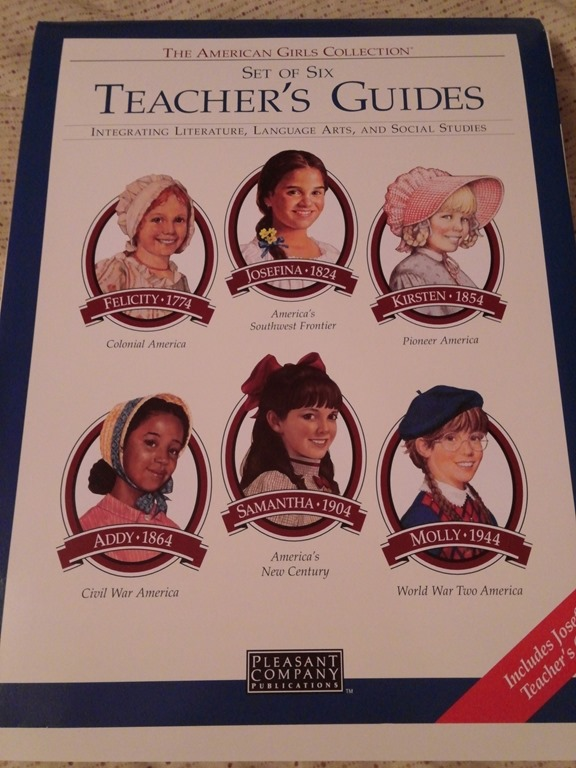 The American Girls Collection Set of Six Teacher's Guides
