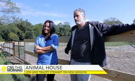 Tracey and Jon Stewart are expanding their animal rescue farm