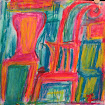 """""""Many Chairs"""" WC Crayon"""