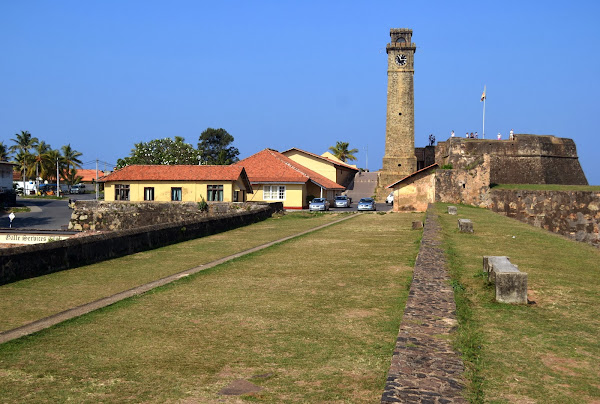форт галле, башня с часами