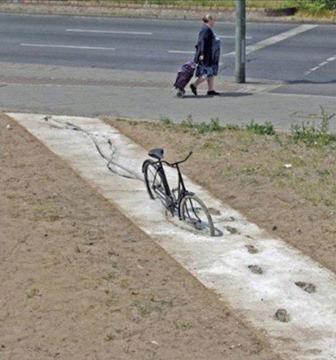 bike in walk out