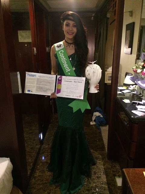 Rewati Chetri crowned Miss Asia at the World Miss University 2016 pageant in China.