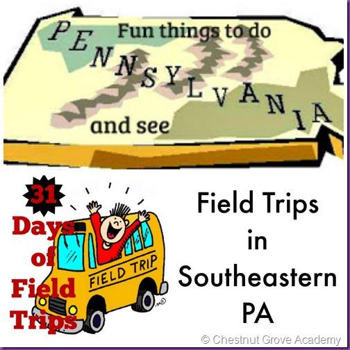 Field trips in PA