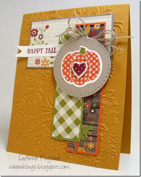 LeAnne Pugliese WeeInklings Happy Fall Pumpkin