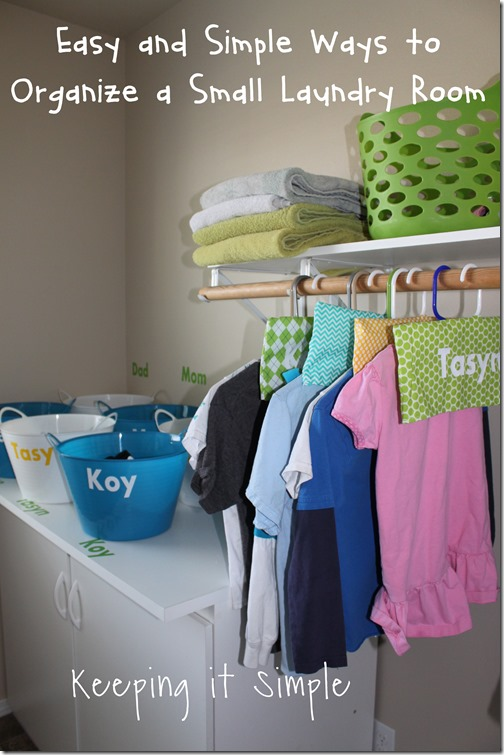 #ad Easy-and-simple-ways-to-organize-your-laundry-room #TotalBleachControl