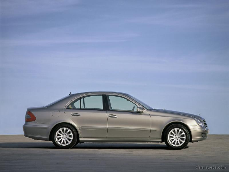 2008 Mercedes-Benz E-Class Diesel Specifications, Pictures, Prices