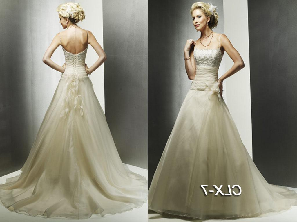 Elegant Wedding Dress  CLX-7
